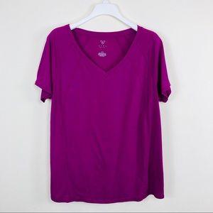 Livi Active Purple T-Shirt Size 14/16